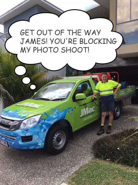 JMac Property Maintenance Ute