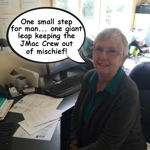 Jan at JMac Office